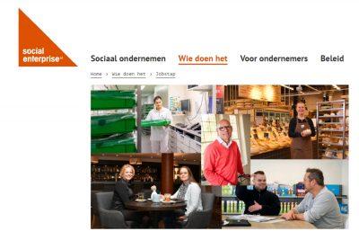 Jobstap Aangesloten Bij Social Enterprise NL