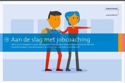 Brochure Aan De Slag Met Jobcoaching