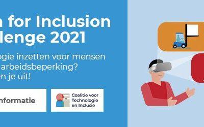 Meld Je Aan Voor De Tech For Inclusion Challenge 2021